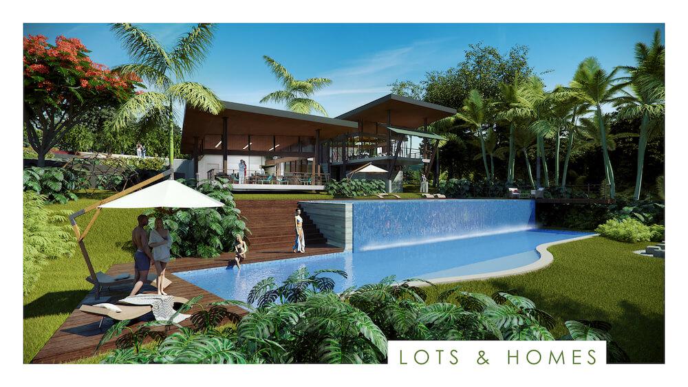 casas con piscina en venta